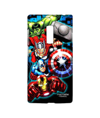 Avengers Ironman Hulk Captain America and Thor Assemble Avengers Fury Sublime Case for OnePlus 2