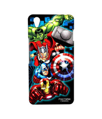Avengers Ironman Hulk Captain America and Thor Assemble Avengers Fury Sublime Case for OnePlus X