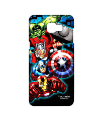 Avengers Ironman Hulk Captain America and Thor Assemble Avengers Fury Sublime Case for Samsung A9 Pro
