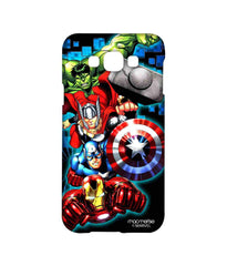 Avengers Ironman Hulk Captain America and Thor Assemble Avengers Fury Sublime Case for Samsung Grand Max