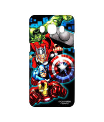 Avengers Ironman Hulk Captain America and Thor Assemble Avengers Fury Sublime Case for Samsung J5 (2016)