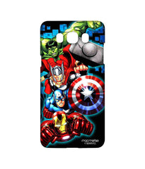 Avengers Ironman Hulk Captain America and Thor Assemble Avengers Fury Sublime Case for Samsung J7 (2016)