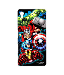 Avengers Ironman Hulk Captain America and Thor Assemble Avengers Fury Sublime Case for Sony Xperia Z5