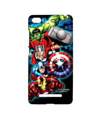 Avengers Ironman Hulk Captain America and Thor Assemble Avengers Fury Sublime Case for Xiaomi Mi4i