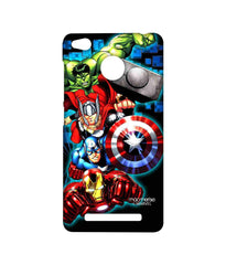 Avengers Ironman Hulk Captain America and Thor Assemble Avengers Fury Sublime Case for Xiaomi Redmi 3S Prime