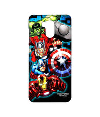 Avengers Ironman Hulk Captain America and Thor Assemble Avengers Fury Sublime Case for Xiaomi Redmi 4 Prime