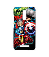 Avengers Ironman Hulk Captain America and Thor Assemble Avengers Fury Sublime Case for Xiaomi Redmi Note 3