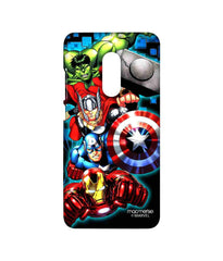 Avengers Ironman Hulk Captain America and Thor Assemble Avengers Fury Sublime Case for Xiaomi Redmi Note 4