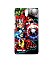 Avengers Ironman Hulk Captain America and Thor Assemble Avengers Fury Sublime Case for Xiaomi Redmi Note Prime