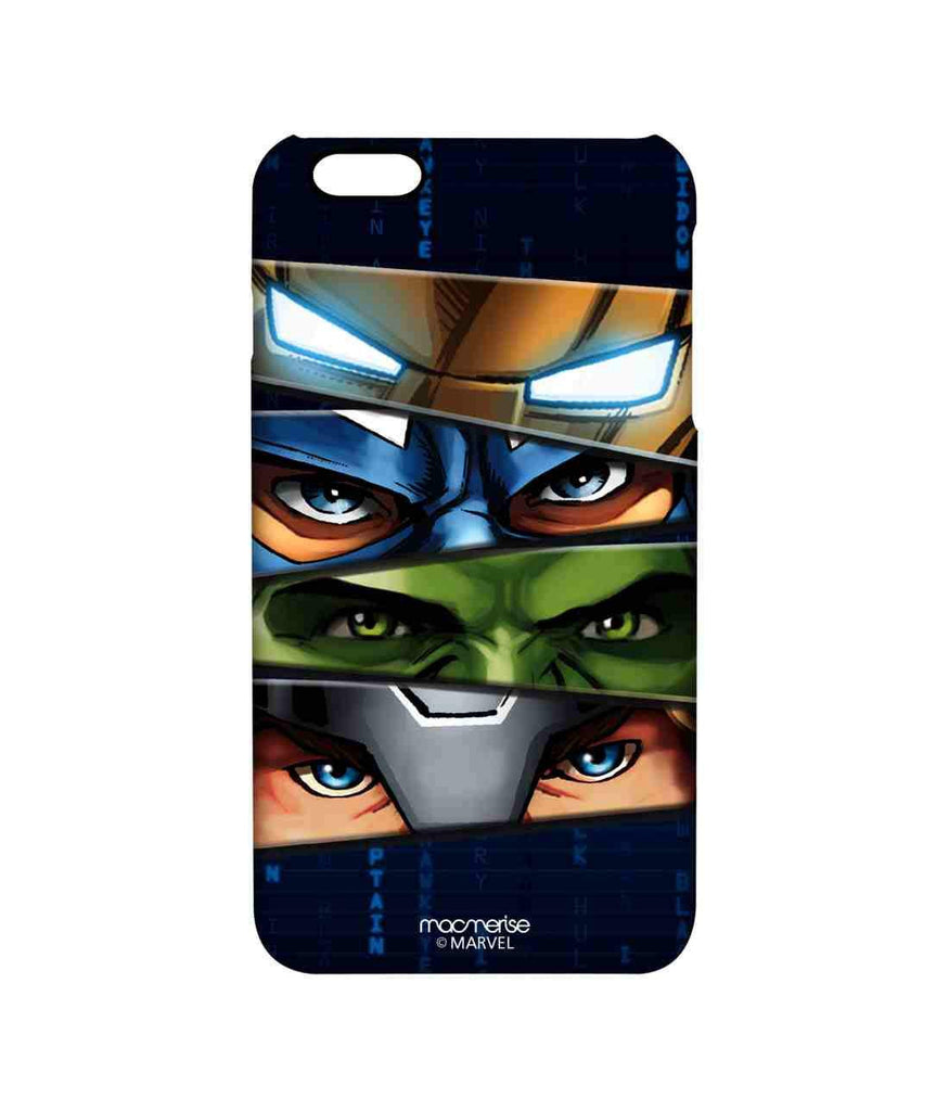 Avengers Ironman Hulk Captain America and Thor Assemble Team Avengers Pro Case for iPhone 6 Plus
