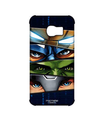 Avengers Ironman Hulk Captain America and Thor Assemble Team Avengers Pro Case for Samsung S6 Edge
