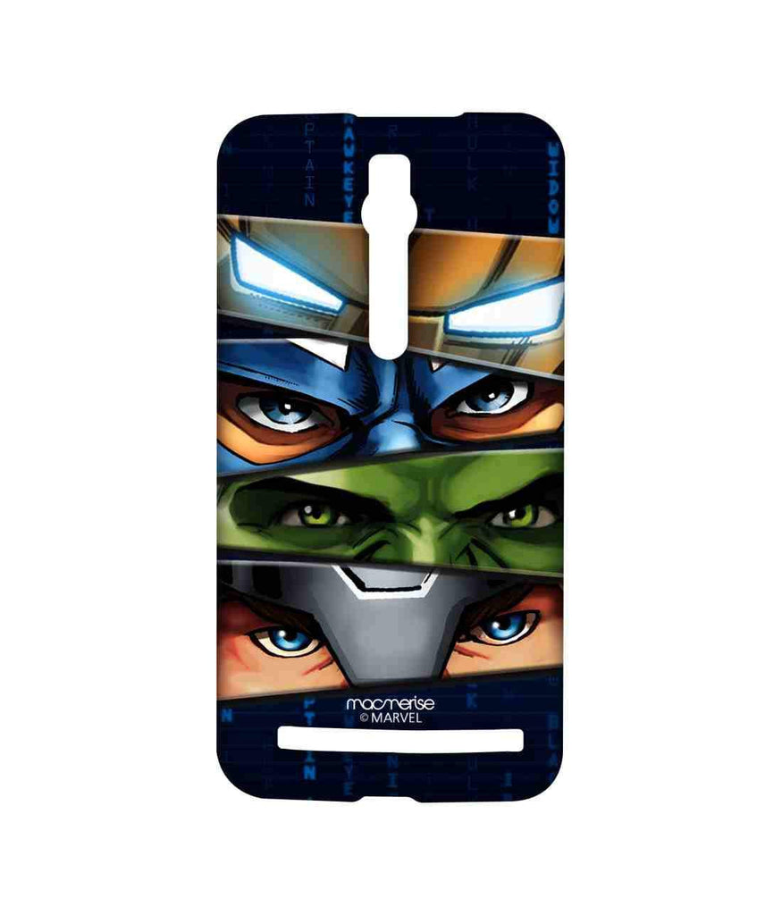 Avengers Ironman Hulk Captain America and Thor Assemble Team Avengers Sublime Case for Asus Zenfone 2