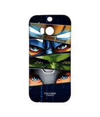 Avengers Ironman Hulk Captain America and Thor Assemble Team Avengers Sublime Case for HTC One M8