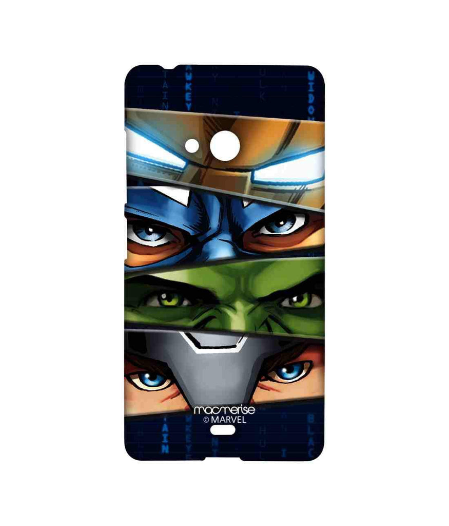 Avengers Ironman Hulk Captain America and Thor Assemble Team Avengers Sublime Case for Microsoft Lumia 540