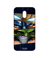 Avengers Ironman Hulk Captain America and Thor Assemble Team Avengers Sublime Case for Moto E3 Power