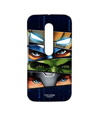Avengers Ironman Hulk Captain America and Thor Assemble Team Avengers Sublime Case for Moto G Turbo