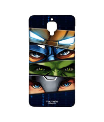 Avengers Ironman Hulk Captain America and Thor Assemble Team Avengers Sublime Case for OnePlus 3