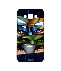Avengers Ironman Hulk Captain America and Thor Assemble Team Avengers Sublime Case for Samsung A8
