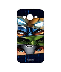 Avengers Ironman Hulk Captain America and Thor Assemble Team Avengers Sublime Case for Samsung J5