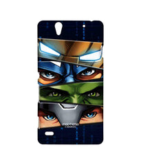 Avengers Ironman Hulk Captain America and Thor Assemble Team Avengers Sublime Case for Sony Xperia C4