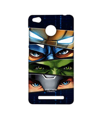 Avengers Ironman Hulk Captain America and Thor Assemble Team Avengers Sublime Case for Xiaomi Redmi 3S Prime
