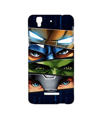 Avengers Ironman Hulk Captain America and Thor Assemble Team Avengers Sublime Case for YU Yureka Plus
