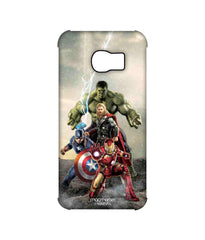Avengers Ironman Hulk Captain America and Thor Assemble Time to Avenge Pro Case for Samsung S6 Edge