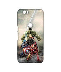 Avengers Ironman Hulk Captain America and Thor Assemble Time to Avenge Sublime Case for Huawei Nexus 6P