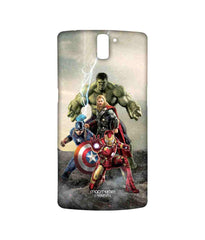 Avengers Ironman Hulk Captain America and Thor Assemble Time to Avenge Sublime Case for OnePlus One