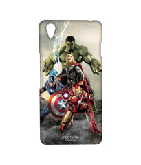 Avengers Ironman Hulk Captain America and Thor Assemble Time to Avenge Sublime Case for OnePlus X