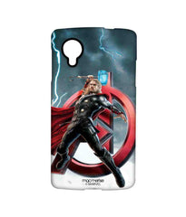 Avengers Thor Age of Ultron Super God Sublime Case for LG Nexus 5
