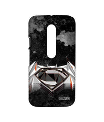 Batman Dawn of Justice  Superman Men of Steel Sublime Case for Moto G Turbo
