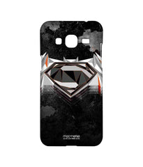 Batman Dawn of Justice  Superman Men of Steel Sublime Case for Samsung J3 (2016)