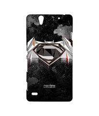 Batman Dawn of Justice  Superman Men of Steel Sublime Case for Sony Xperia C4