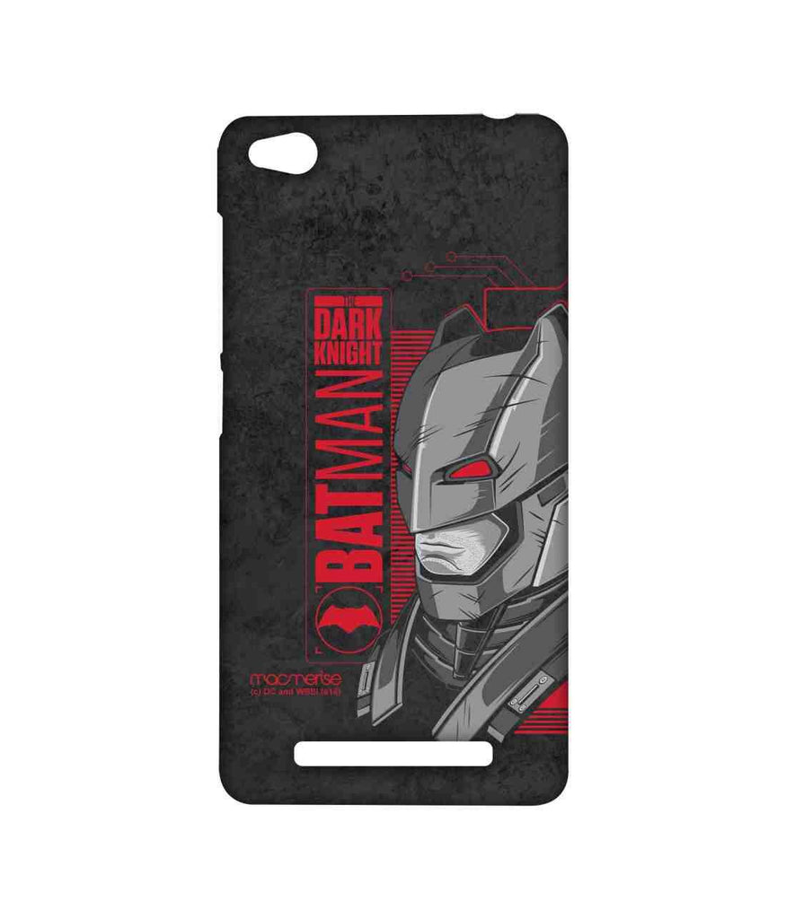 Batman Dawn of Justice Batman Mech Suit Sublime Case for Xiaomi Redmi 3S