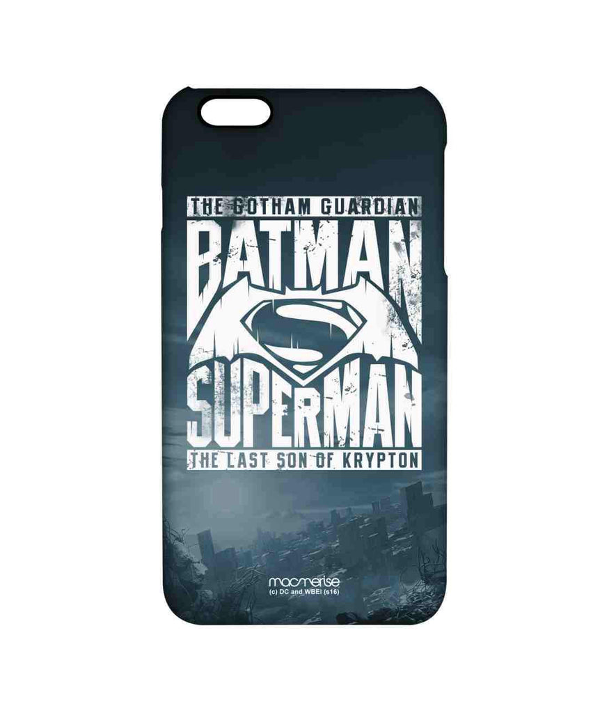 Batman Dawn of Justice Batman Superman Gotham vs. Krypton Blue Pro Case for iPhone 6 Plus