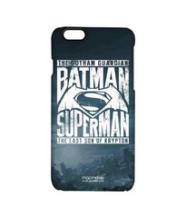 Batman Dawn of Justice Batman Superman Gotham vs. Krypton Blue Pro Case for iPhone 6S