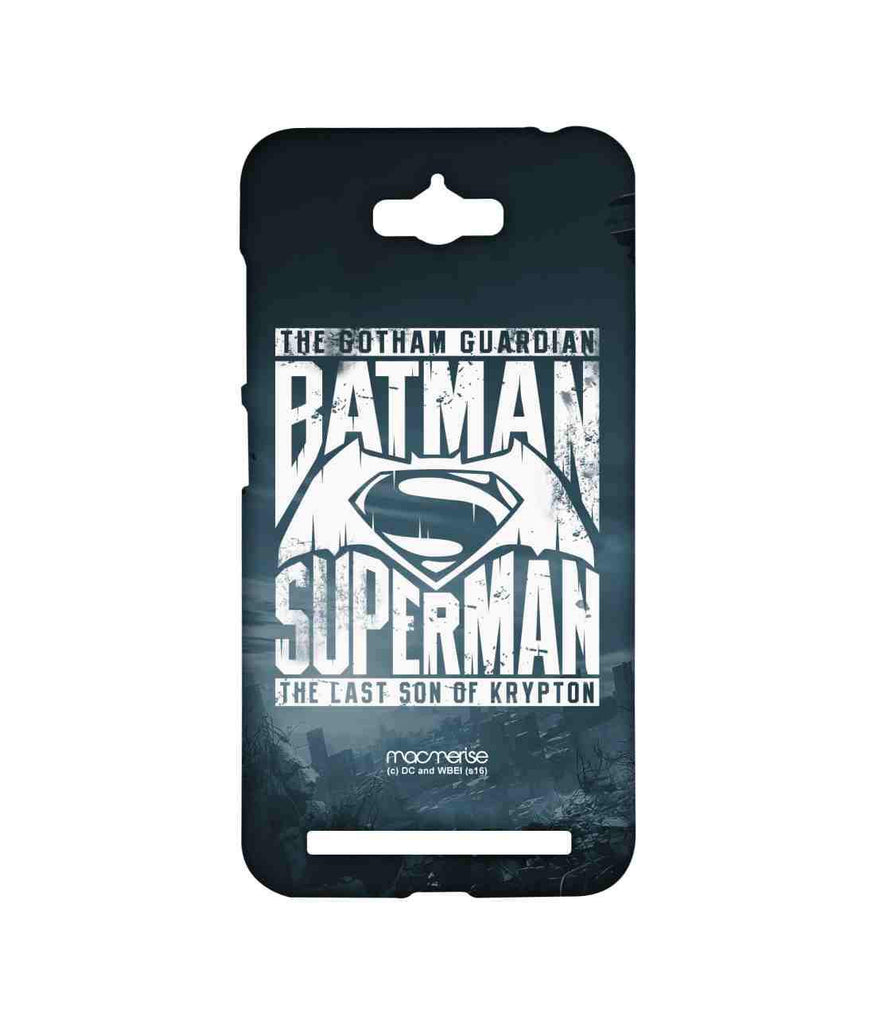 Batman Dawn of Justice Batman Superman Gotham vs. Krypton Blue Sublime Case for Asus Zenfone Max