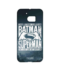 Batman Dawn of Justice Batman Superman Gotham vs. Krypton Blue Sublime Case for HTC 10