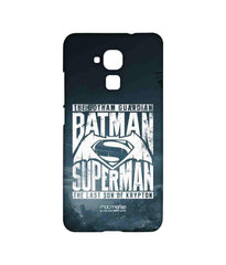 Batman Dawn of Justice Batman Superman Gotham vs. Krypton Blue Sublime Case for Huawei Honor 5C