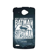 Batman Dawn of Justice Batman Superman Gotham vs. Krypton Blue Sublime Case for Lenovo S920