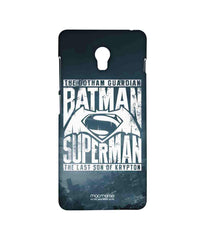 Batman Dawn of Justice Batman Superman Gotham vs. Krypton Blue Sublime Case for Lenovo Vibe P1