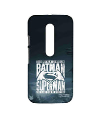 Batman Dawn of Justice Batman Superman Gotham vs. Krypton Blue Sublime Case for Moto G Turbo