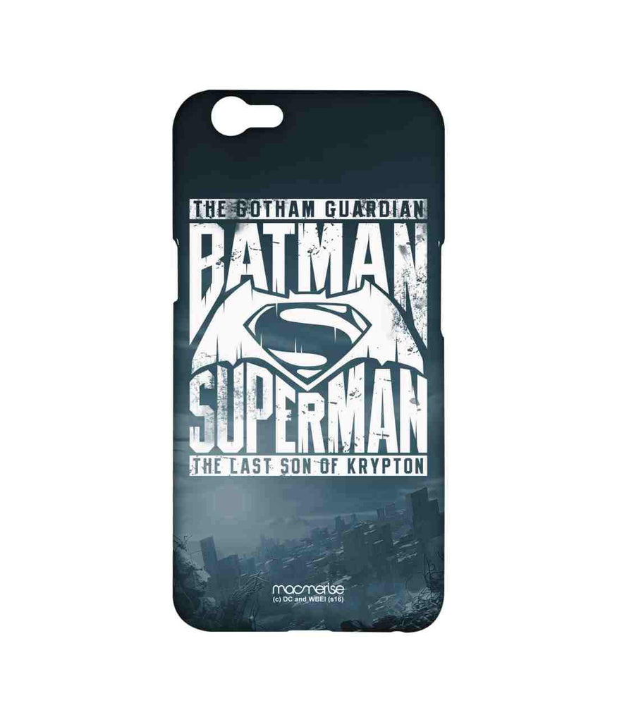 Batman Dawn of Justice Batman Superman Gotham vs. Krypton Blue Sublime Case for Oppo F1s