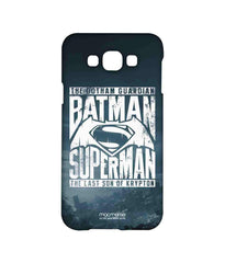 Batman Dawn of Justice Batman Superman Gotham vs. Krypton Blue Sublime Case for Samsung Grand Max