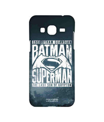 Batman Dawn of Justice Batman Superman Gotham vs. Krypton Blue Sublime Case for Samsung J3 (2016)