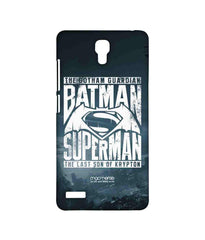 Batman Dawn of Justice Batman Superman Gotham vs. Krypton Blue Sublime Case for Xiaomi Redmi Note Prime