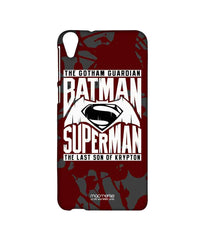 Batman Dawn of Justice Batman Superman Gotham vs. Krypton Red Sublime Case for HTC Desire 820