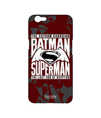Batman Dawn of Justice Batman Superman Gotham vs. Krypton Red Sublime Case for Oppo F1s