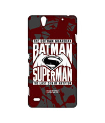 Batman Dawn of Justice Batman Superman Gotham vs. Krypton Red Sublime Case for Sony Xperia C4
